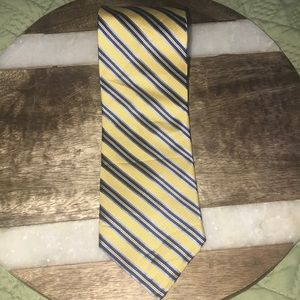 Nautica Gold and blue tie